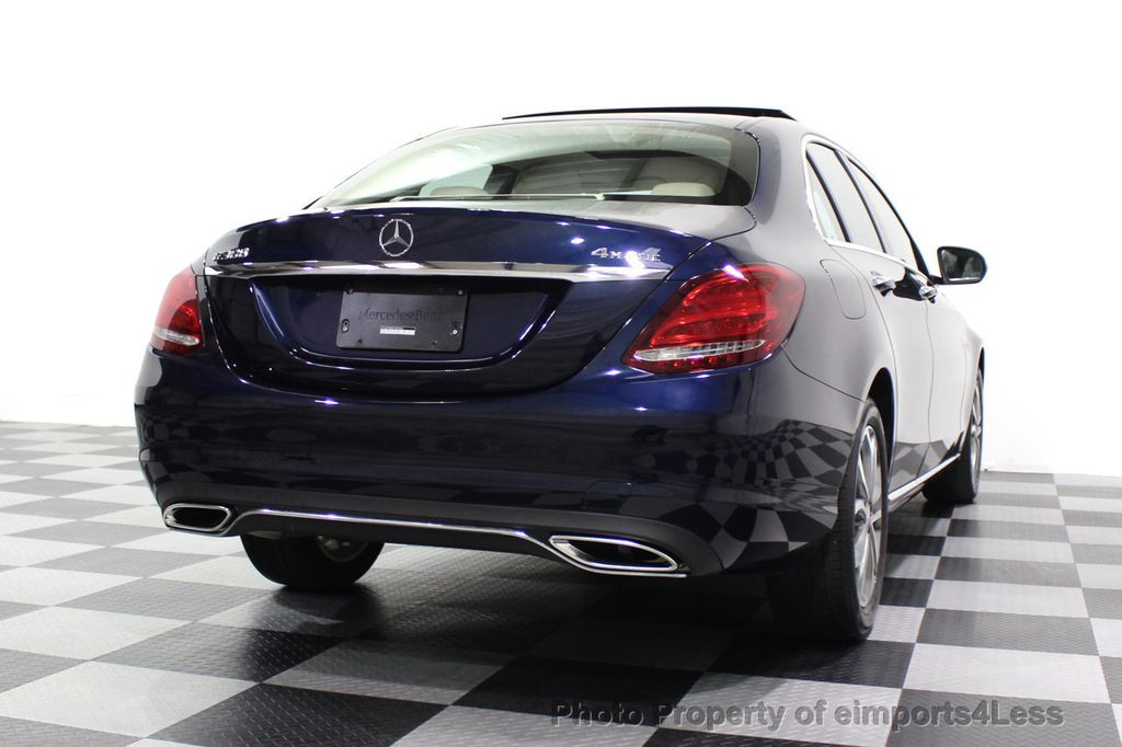 2015 Mercedes-Benz C-Class CERTIFIED C300 4Matic NAV PANO AWD Burmester LED - 18147497 - 51