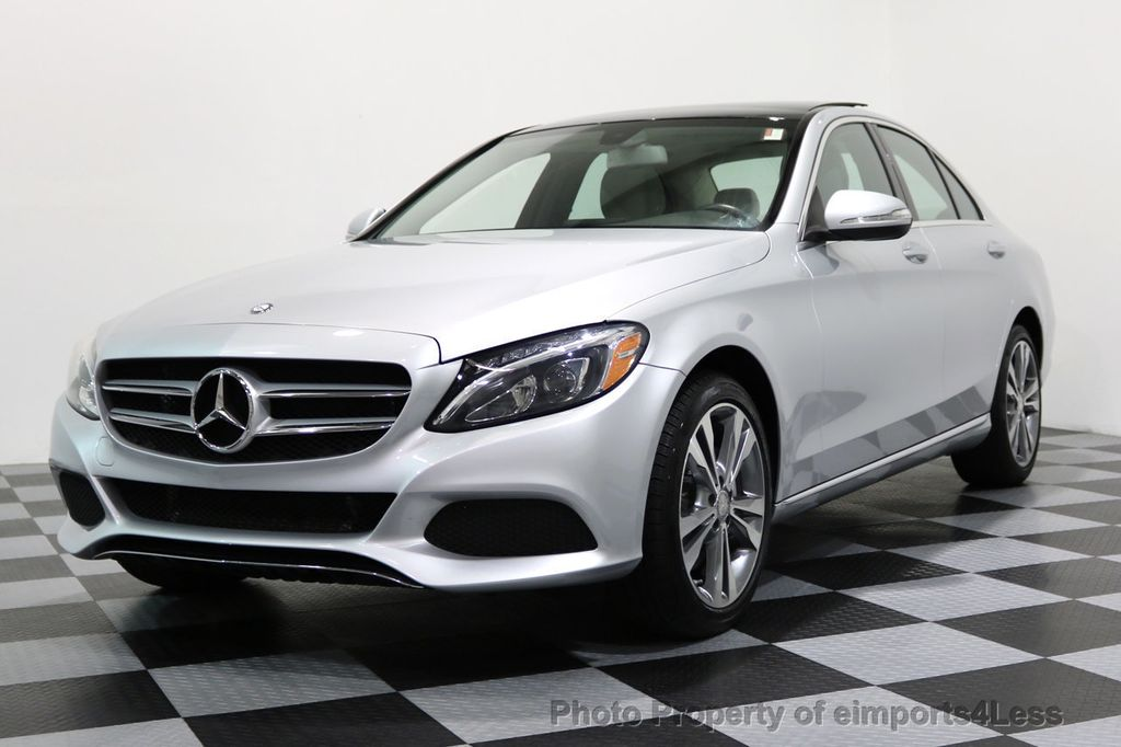 2015 Used Mercedes-Benz C-Class CERTIFIED C300 4Matic ...