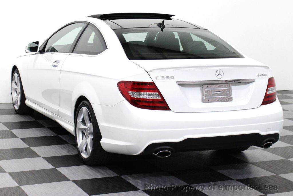 2015 used mercedes benz c class certified c350 4matic sport package awd coupe camera navi at. Black Bedroom Furniture Sets. Home Design Ideas