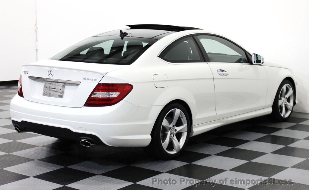 2015 used mercedes benz c class certified c350 4matic for Mercedes benz sports coupe