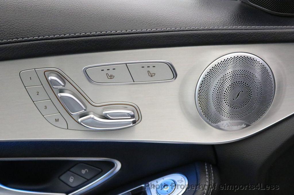 2015 Mercedes-Benz C-Class CERTIFIED C400 4Matic AMG SPORT CAM BLIS NAVI - 17124347 - 21
