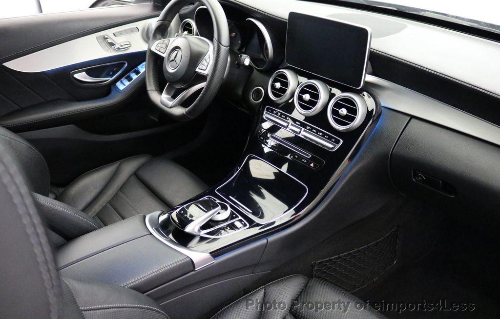 2015 Mercedes-Benz C-Class CERTIFIED C400 4Matic AMG SPORT CAM BLIS NAVI - 17124347 - 33