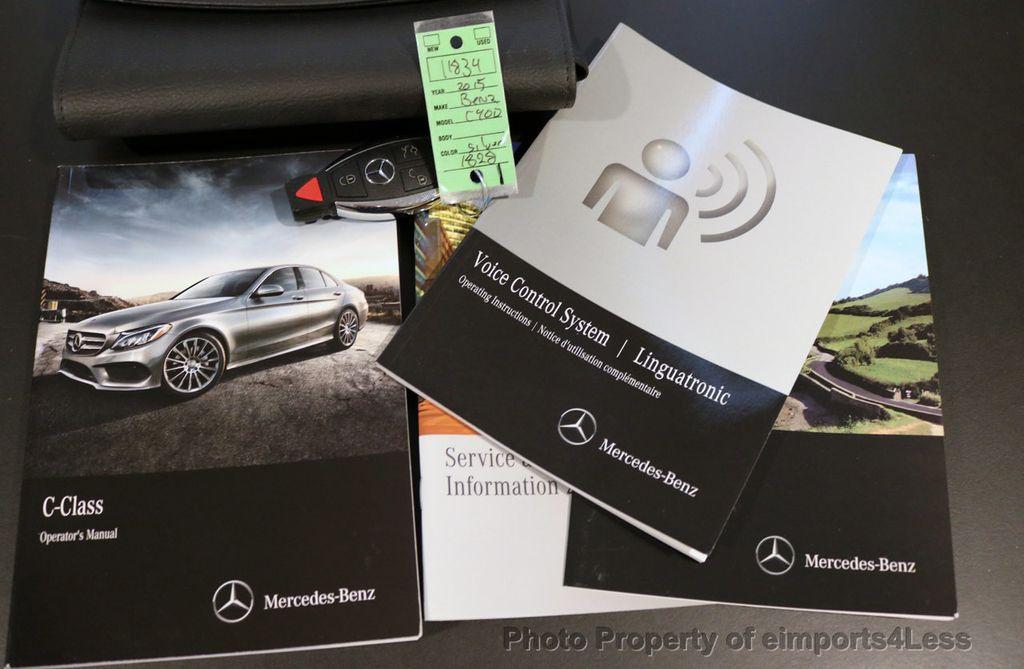 2015 Mercedes-Benz C-Class CERTIFIED C400 4Matic AMG SPORT CAM BLIS NAVI - 17124347 - 38