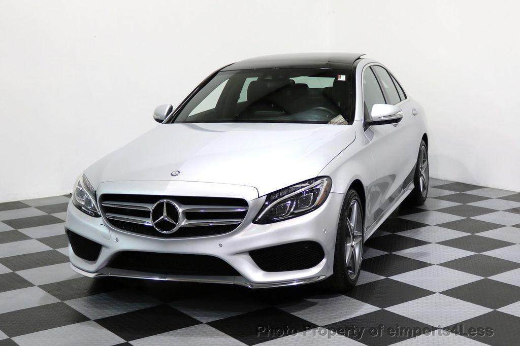 2015 Mercedes-Benz C-Class CERTIFIED C400 4Matic AMG SPORT CAM BLIS NAVI - 17124347 - 41