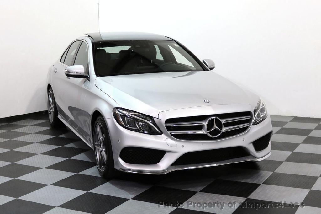 2015 Mercedes-Benz C-Class CERTIFIED C400 4Matic AMG SPORT CAM BLIS NAVI - 17124347 - 42