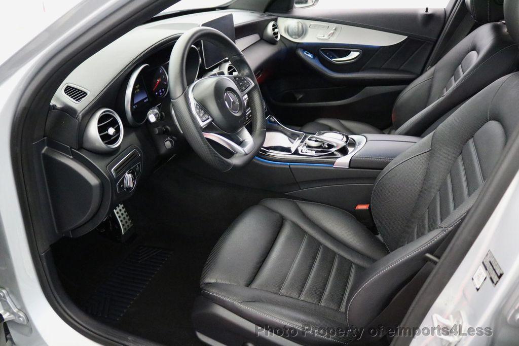 2015 Mercedes-Benz C-Class CERTIFIED C400 4Matic AMG SPORT CAM BLIS NAVI - 17124347 - 45
