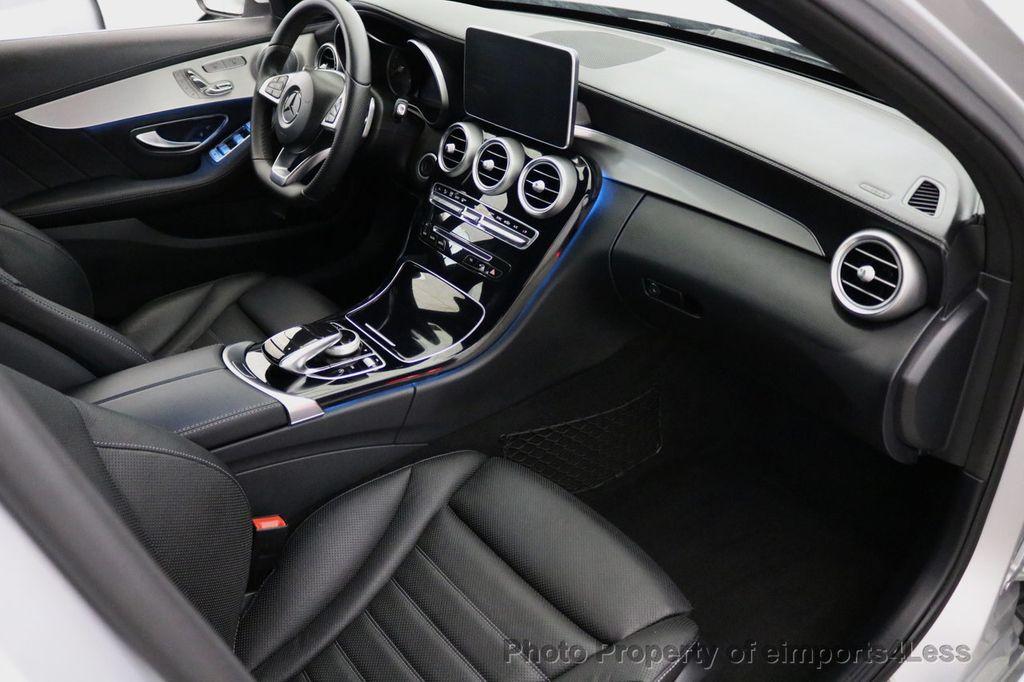 2015 Mercedes-Benz C-Class CERTIFIED C400 4Matic AMG SPORT CAM BLIS NAVI - 17124347 - 48