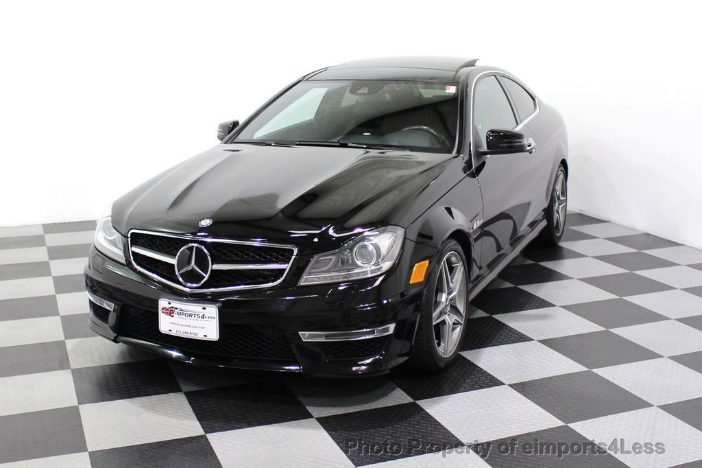 2015 Mercedes-Benz C-Class CERTIFIED C63 AMG V8 Coupe Adaptive Cruise BLIS Cam NAV - 18257416 - 14