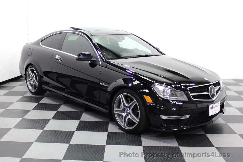 2015 Mercedes-Benz C-Class CERTIFIED C63 AMG V8 Coupe Adaptive Cruise BLIS Cam NAV - 18257416 - 15