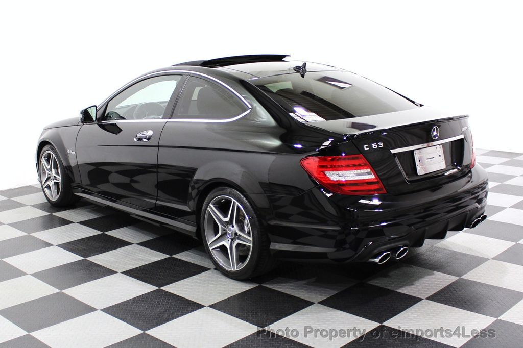 2015 Mercedes-Benz C-Class CERTIFIED C63 AMG V8 Coupe Adaptive Cruise BLIS Cam NAV - 18257416 - 16