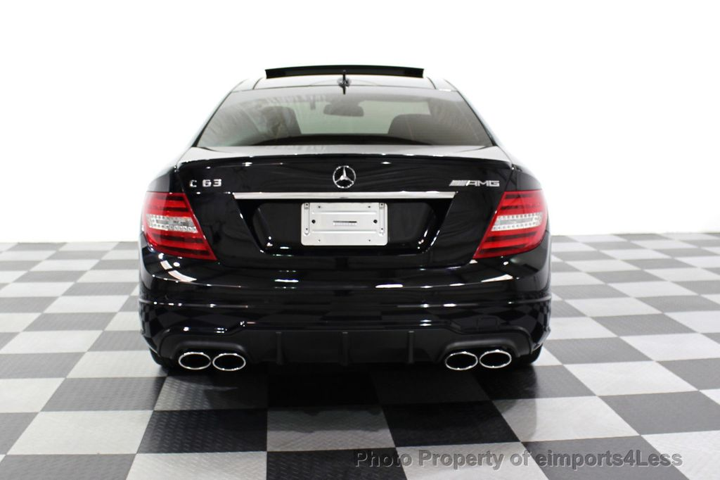 2015 Mercedes-Benz C-Class CERTIFIED C63 AMG V8 Coupe Adaptive Cruise BLIS Cam NAV - 18257416 - 17