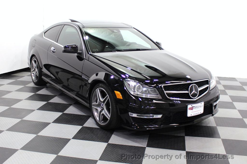 2015 Mercedes-Benz C-Class CERTIFIED C63 AMG V8 Coupe Adaptive Cruise BLIS Cam NAV - 18257416 - 1