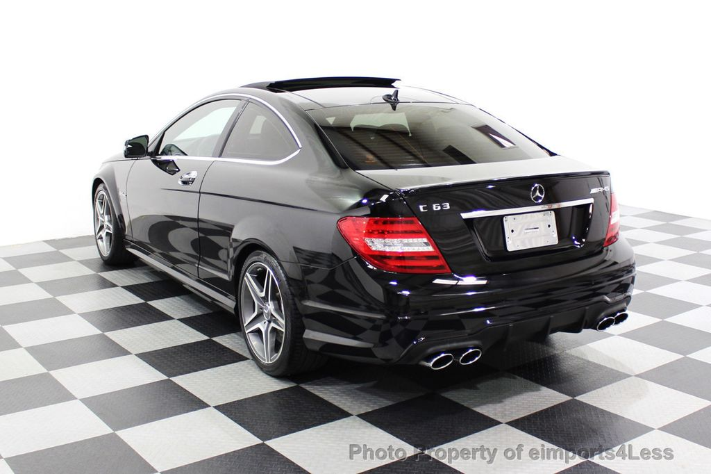 2015 Mercedes-Benz C-Class CERTIFIED C63 AMG V8 Coupe Adaptive Cruise BLIS Cam NAV - 18257416 - 2
