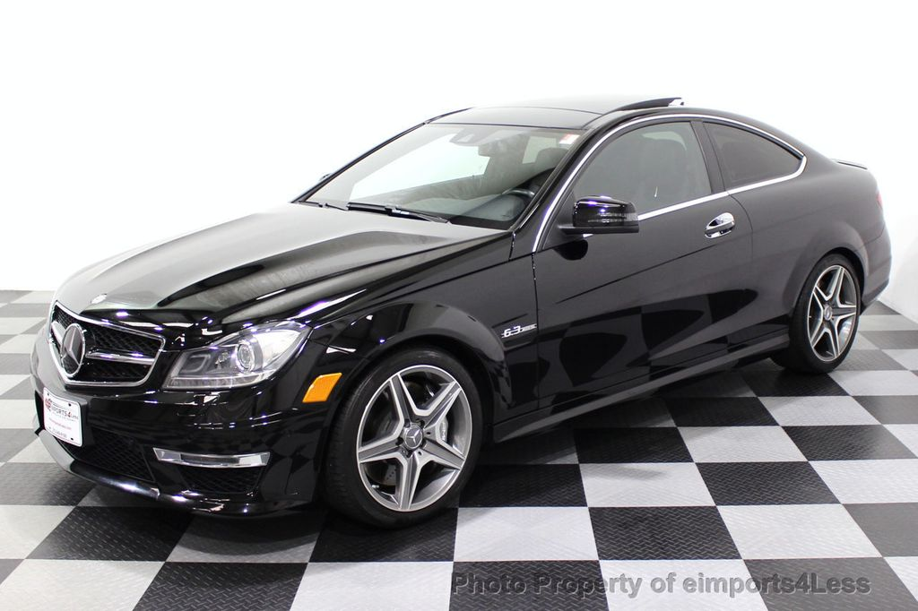 2015 Mercedes-Benz C-Class CERTIFIED C63 AMG V8 Coupe Adaptive Cruise BLIS Cam NAV - 18257416 - 30