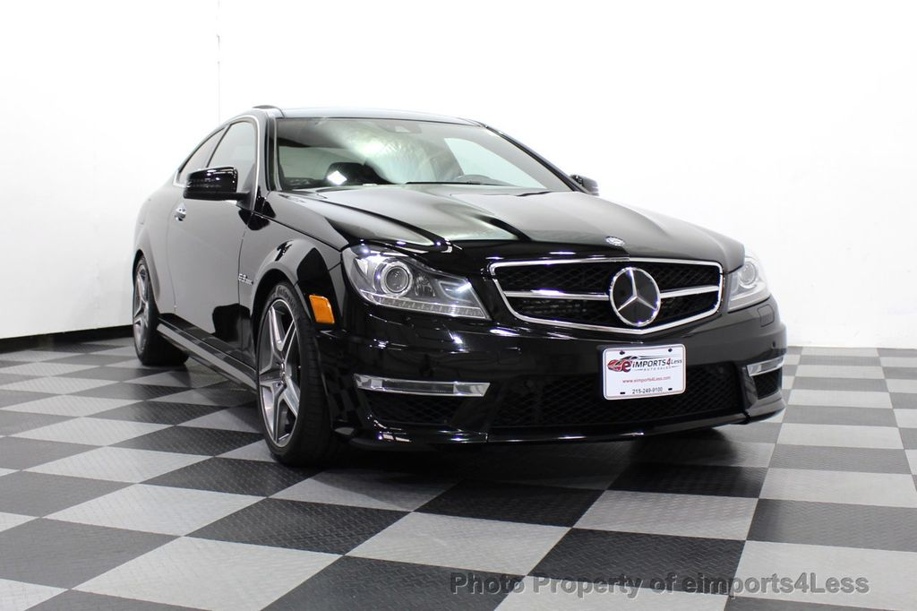 2015 Mercedes-Benz C-Class CERTIFIED C63 AMG V8 Coupe Adaptive Cruise BLIS Cam NAV - 18257416 - 31