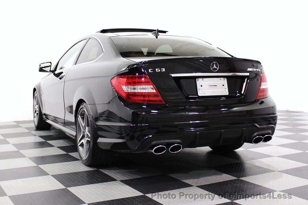2015 Mercedes-Benz C-Class CERTIFIED C63 AMG V8 Coupe Adaptive Cruise BLIS Cam NAV - 18257416 - 32