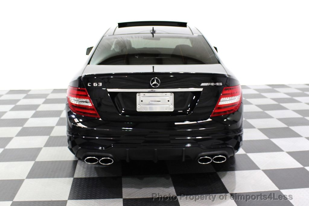 2015 Mercedes-Benz C-Class CERTIFIED C63 AMG V8 Coupe Adaptive Cruise BLIS Cam NAV - 18257416 - 33