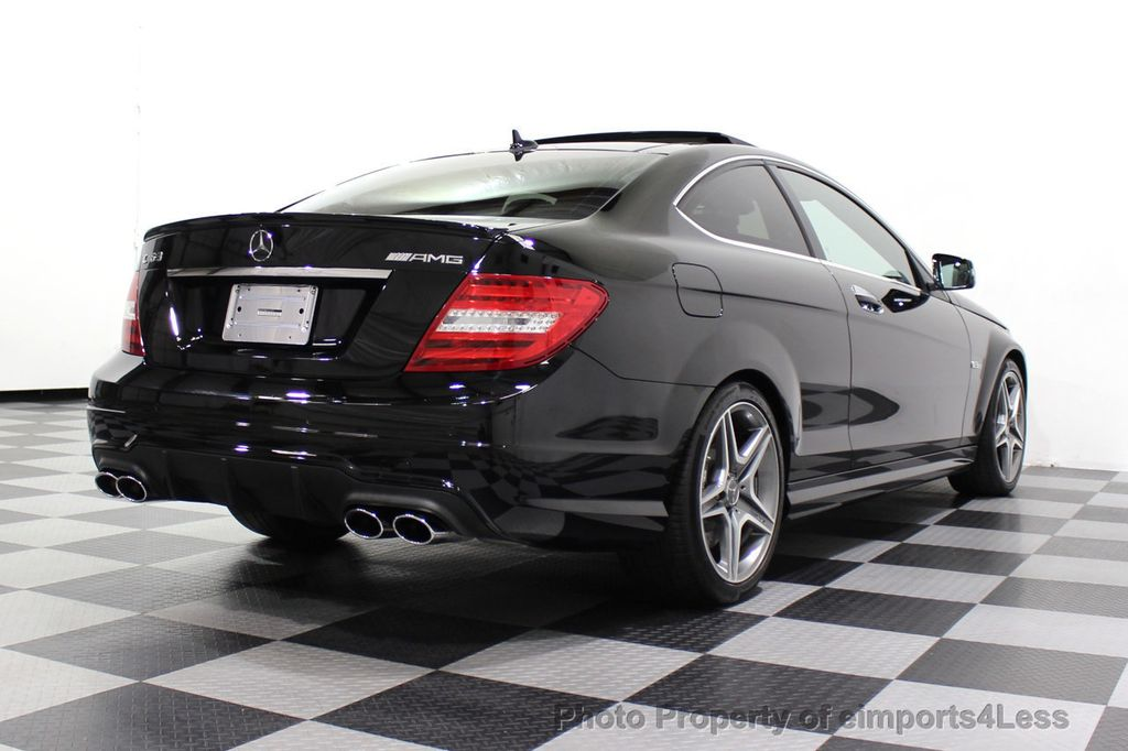 2015 Mercedes-Benz C-Class CERTIFIED C63 AMG V8 Coupe Adaptive Cruise BLIS Cam NAV - 18257416 - 34