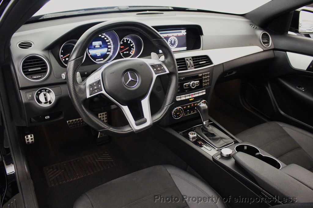 2015 Mercedes-Benz C-Class CERTIFIED C63 AMG V8 Coupe Adaptive Cruise BLIS Cam NAV - 18257416 - 36