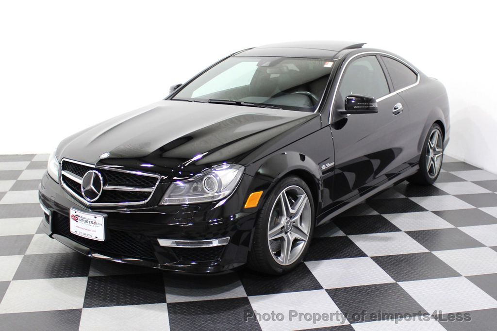 2015 Mercedes-Benz C-Class CERTIFIED C63 AMG V8 Coupe Adaptive Cruise BLIS Cam NAV - 18257416 - 48
