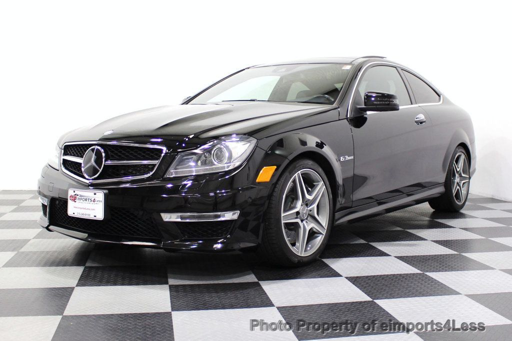 2015 Mercedes-Benz C-Class CERTIFIED C63 AMG V8 Coupe Adaptive Cruise BLIS Cam NAV - 18257416 - 49