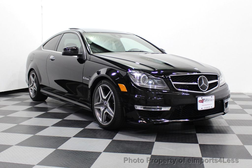 2015 Mercedes-Benz C-Class CERTIFIED C63 AMG V8 Coupe Adaptive Cruise BLIS Cam NAV - 18257416 - 50