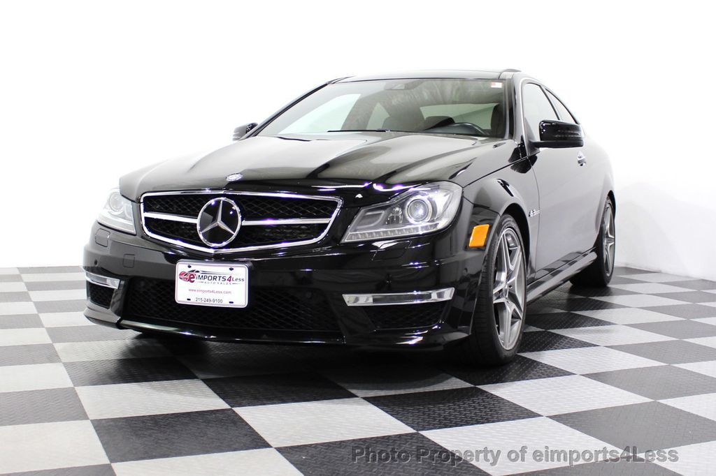 2015 Mercedes-Benz C-Class CERTIFIED C63 AMG V8 Coupe Adaptive Cruise BLIS Cam NAV - 18257416 - 58