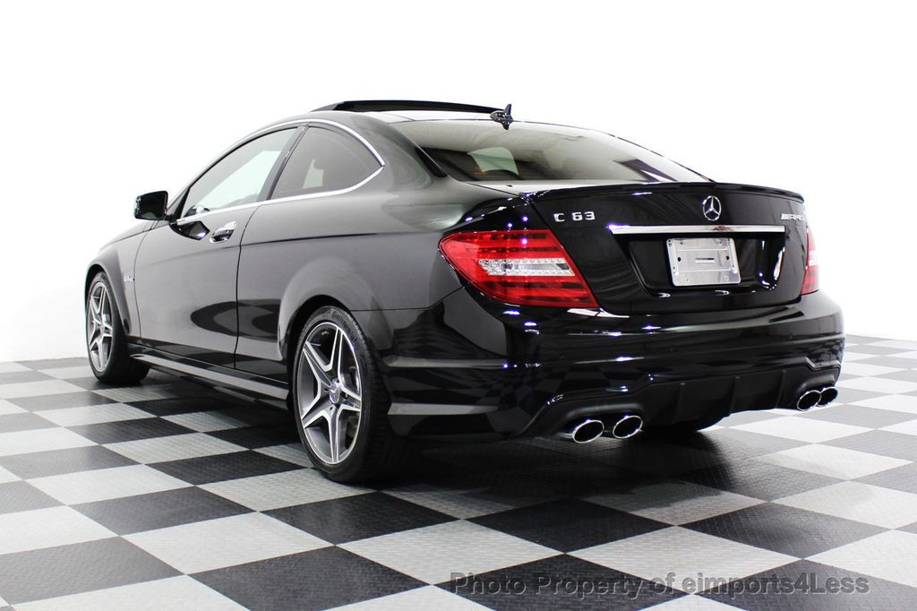 2015 Mercedes-Benz C-Class CERTIFIED C63 AMG V8 Coupe Adaptive Cruise BLIS Cam NAV - 18257416 - 59