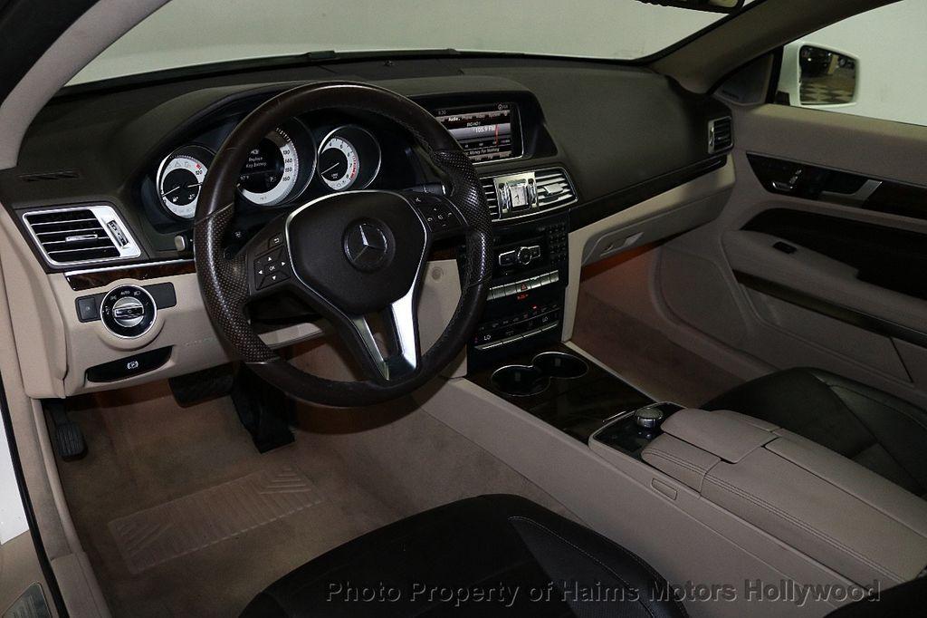 2015 Mercedes-Benz E-Class 2dr Coupe E 400 RWD - 18093322 - 16