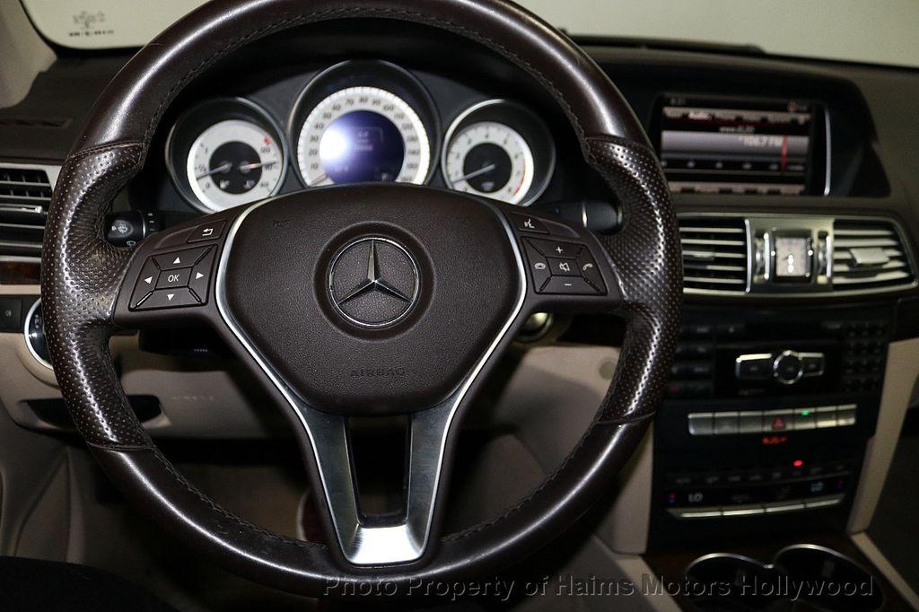 2015 Mercedes-Benz E-Class 2dr Coupe E 400 RWD - 18093322 - 25
