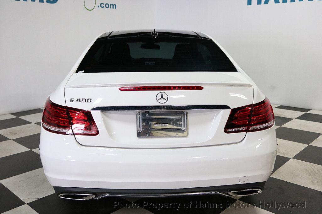 2015 Mercedes-Benz E-Class 2dr Coupe E 400 RWD - 18093322 - 5
