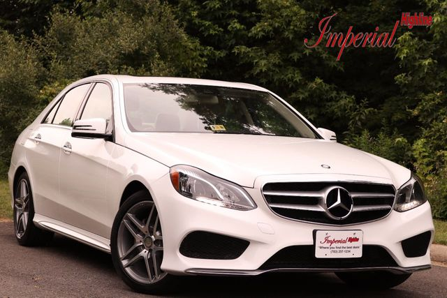 2015 Mercedes-Benz E-Class 4dr Sedan E 350 Sport 4MATIC
