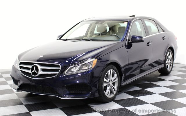 2015 Mercedes-Benz E-Class CERTIFIED E250 4Matic BlueTEC DIESEL AWD CAMERA NAVI - 16676207 - 0