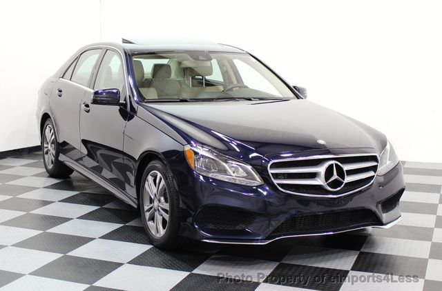 2015 Mercedes-Benz E-Class CERTIFIED E250 4Matic BlueTEC DIESEL AWD CAMERA NAVI - 16676207 - 14