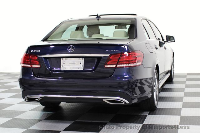 2015 Mercedes-Benz E-Class CERTIFIED E250 4Matic BlueTEC DIESEL AWD CAMERA NAVI - 16676207 - 17