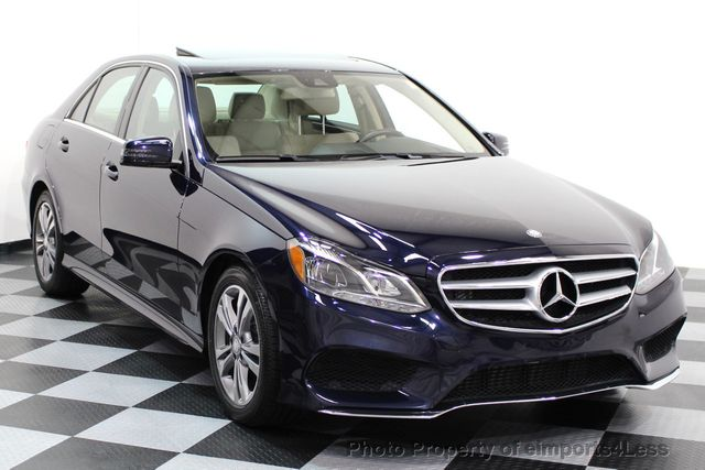 2015 Mercedes-Benz E-Class CERTIFIED E250 4Matic BlueTEC DIESEL AWD CAMERA NAVI - 16676207 - 1