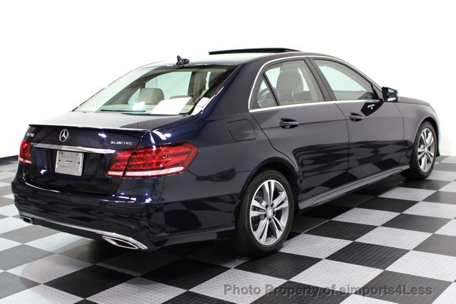 2015 Mercedes-Benz E-Class CERTIFIED E250 4Matic BlueTEC DIESEL AWD CAMERA NAVI - 16676207 - 44