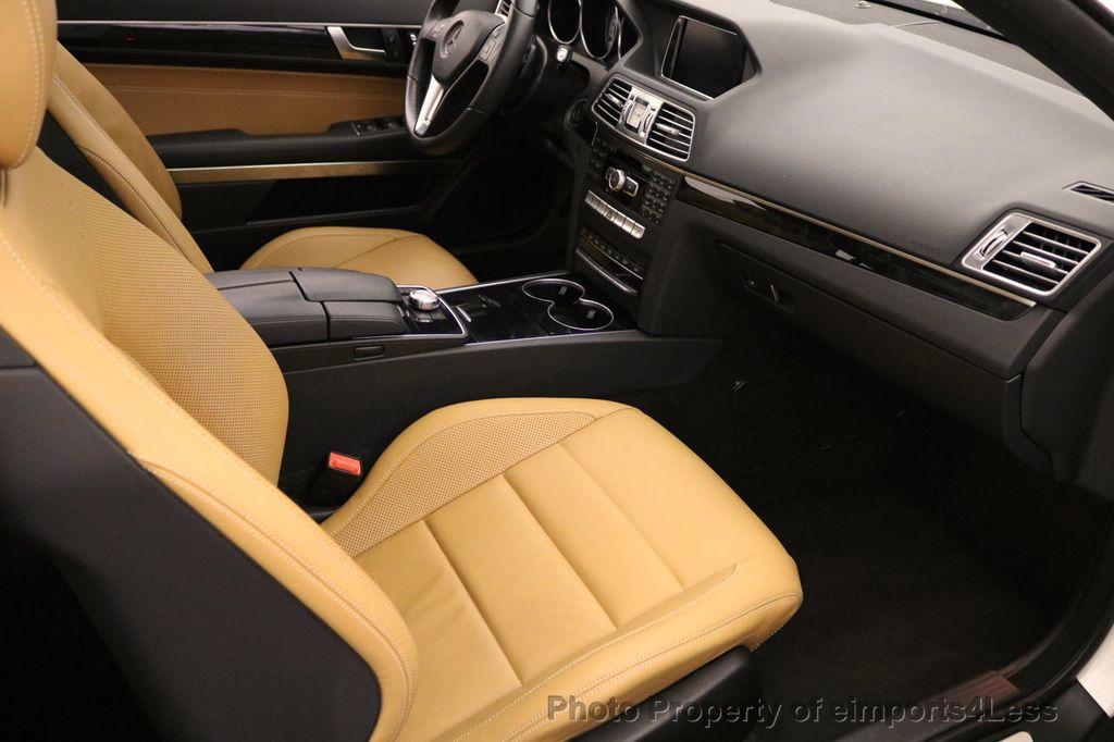 2015 Mercedes-Benz E-Class CERTIFIED E400 4Matic Sport AWD Blind Spot CAMERA NAV - 17275675 - 34