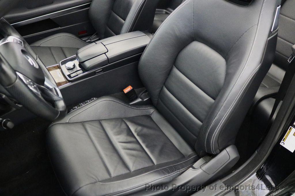 2015 Mercedes-Benz E-Class CERTIFIED E400 AMG Sport Package BLIND SPOT NAV CAMERA - 17401482 - 34