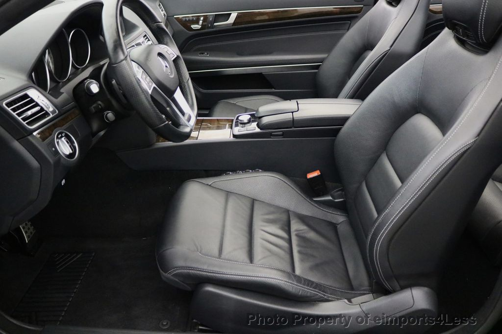 2015 Mercedes-Benz E-Class CERTIFIED E400 AMG Sport Package BLIND SPOT NAV CAMERA - 17401482 - 36