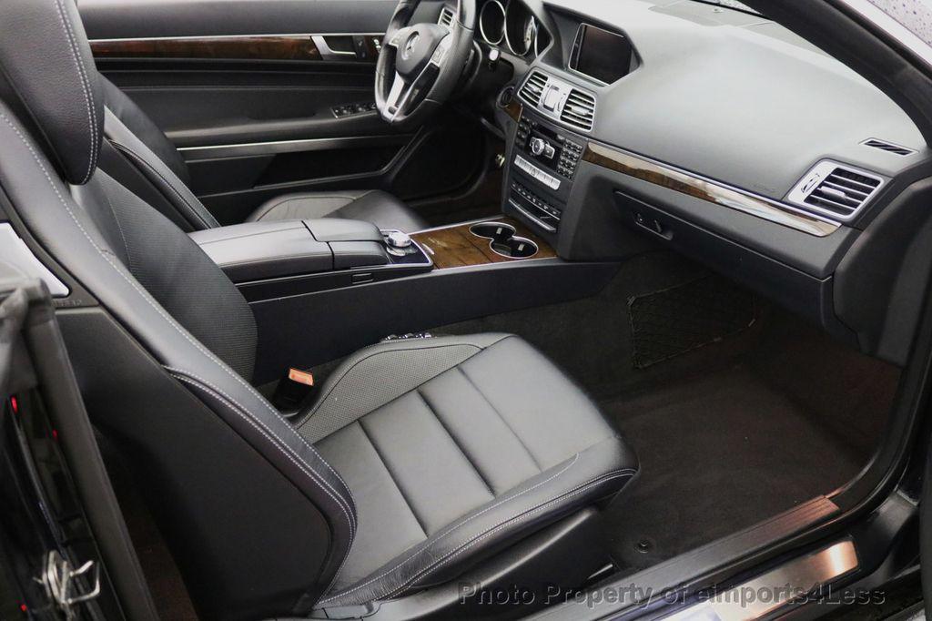 2015 Mercedes-Benz E-Class CERTIFIED E400 AMG Sport Package BLIND SPOT NAV CAMERA - 17401482 - 38