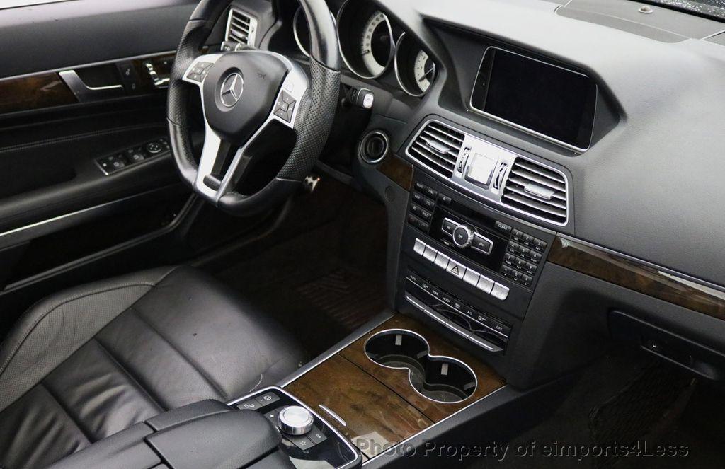 2015 Mercedes-Benz E-Class CERTIFIED E400 AMG Sport Package BLIND SPOT NAV CAMERA - 17401482 - 39