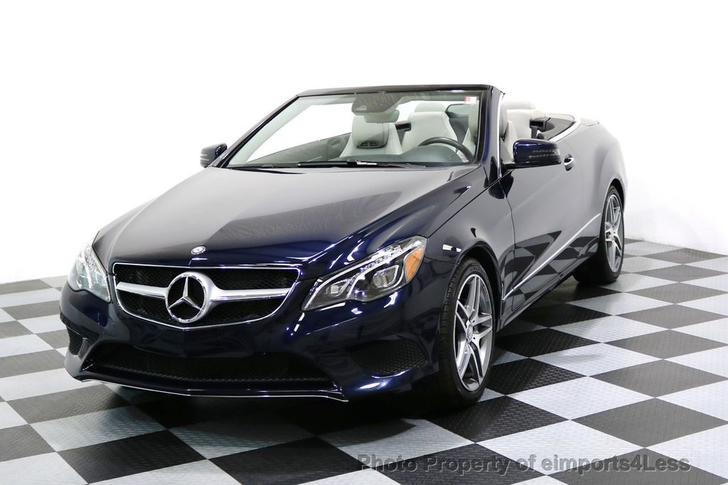 2015 Mercedes-Benz E-Class CERTIFIED E400 AMG Sport Package LEDs NAVI CAMERA - 17461025 - 0