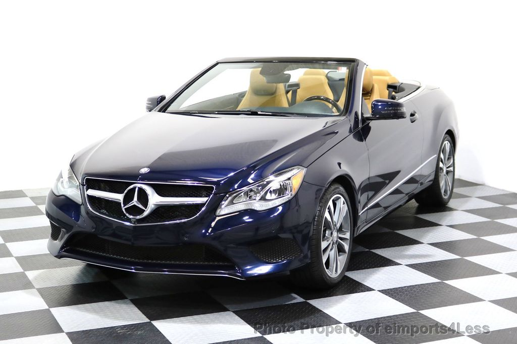 2015 Mercedes Benz E Class CERTIFIED E400 SPORT PACKAGE CONVERTIBLE    17179685   0
