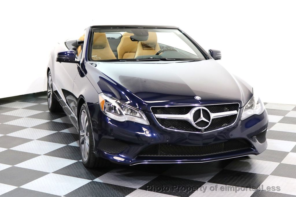 2015 Mercedes-Benz E-Class CERTIFIED E400 SPORT PACKAGE CONVERTIBLE - 17179685 - 14