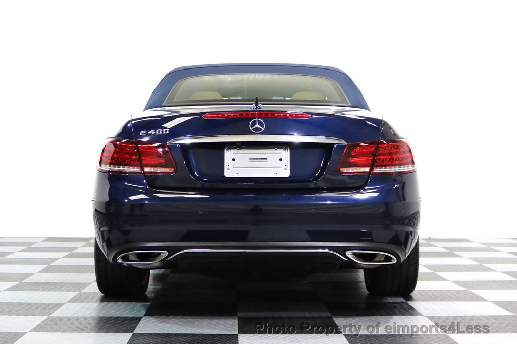 2015 Mercedes-Benz E-Class CERTIFIED E400 SPORT PACKAGE CONVERTIBLE - 17179685 - 16