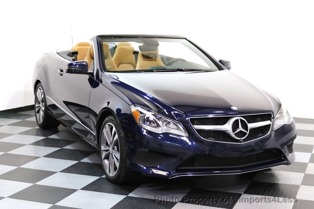 2015 Mercedes-Benz E-Class CERTIFIED E400 SPORT PACKAGE CONVERTIBLE - 17179685 - 1