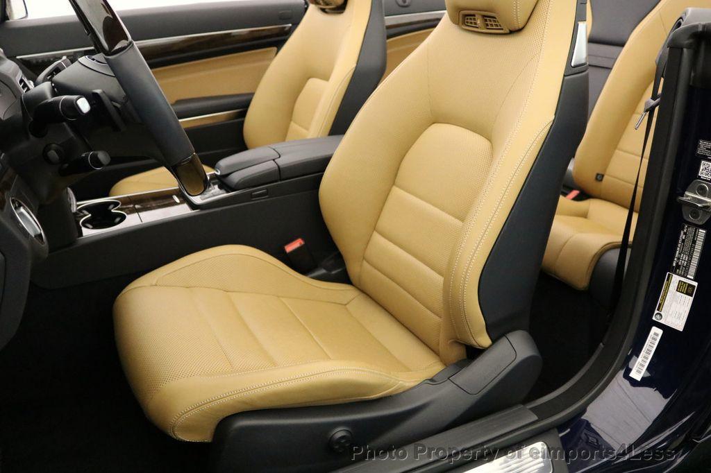 2015 Mercedes-Benz E-Class CERTIFIED E400 SPORT PACKAGE CONVERTIBLE - 17179685 - 22