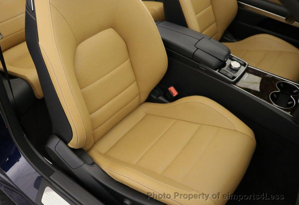 2015 Mercedes-Benz E-Class CERTIFIED E400 SPORT PACKAGE CONVERTIBLE - 17179685 - 23