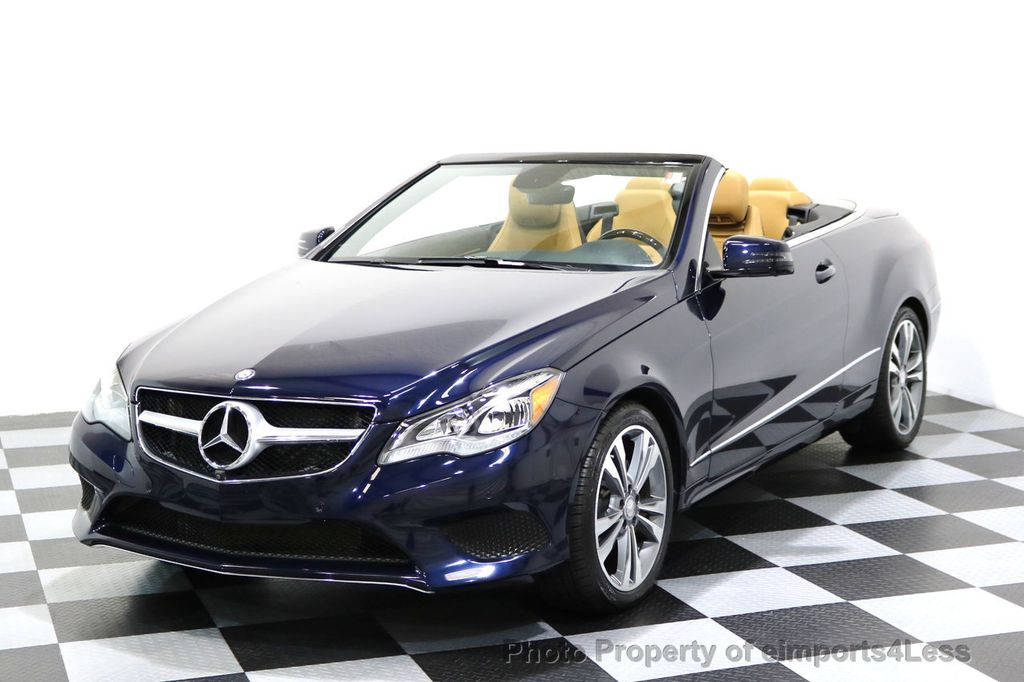 2015 Mercedes-Benz E-Class CERTIFIED E400 SPORT PACKAGE CONVERTIBLE - 17179685 - 26